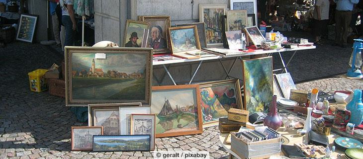 Charity Second-Hand-Markt