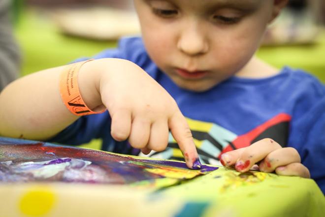 Malen, basteln, kreativ-sein für Groß und Klein!