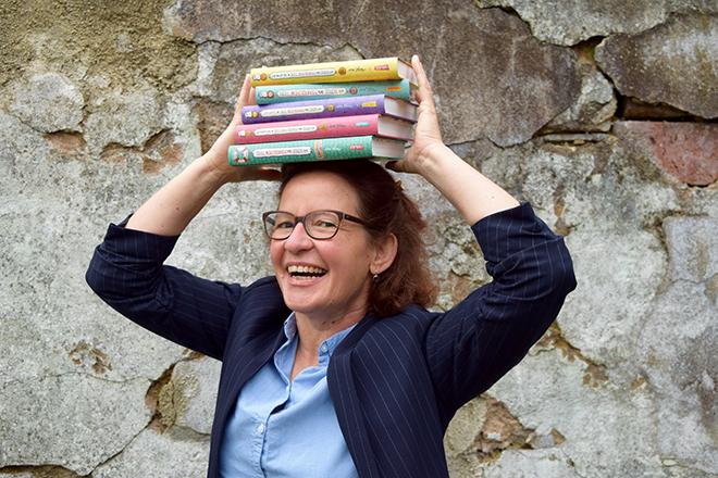 Eröffnung mit der Autorin Margit Auer