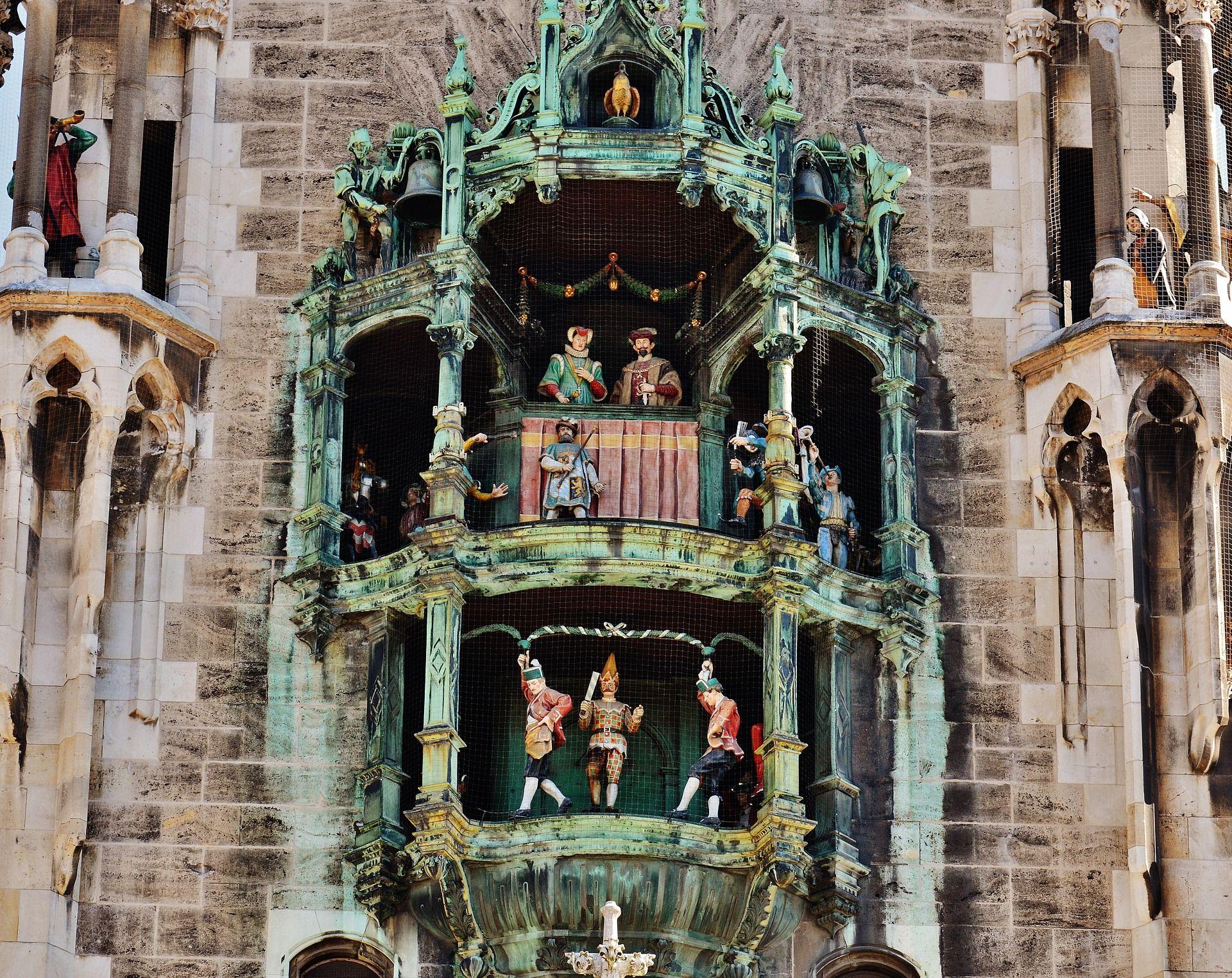 Das Glockenspiel am Marienplatz © Alexas_Fotos / pixabay