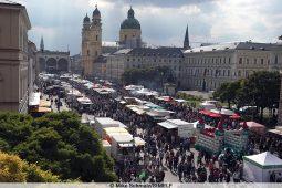 Die Münchner Bauernmarktmeile.