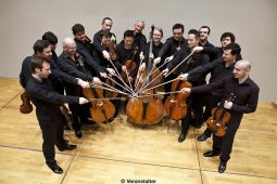 Ensemblemitglieder des Orchester I Sedici.