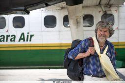 Fotoausstellung zum Film von Reinhold Messner.