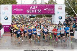 Auf geht's beim München Marathon