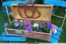 Hübsche Blumenidee beim Tölzer Herbstzauber