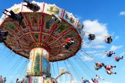 Oktoberfest: Kettenkarussell in Fahrt, Festival-Highlights