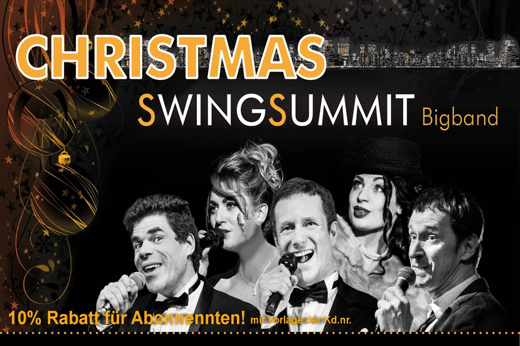 Werbefotografie: Das Ensemble Swing Summit