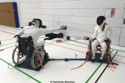 Rollstuhlfechten