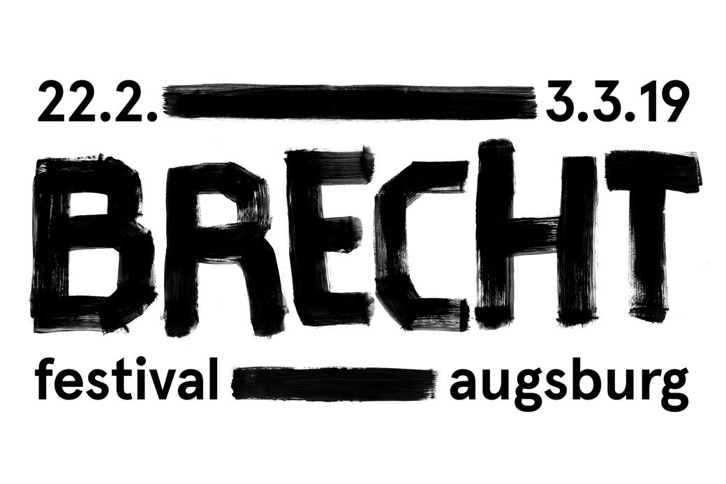 Logo Brechtfestival in Augsburg