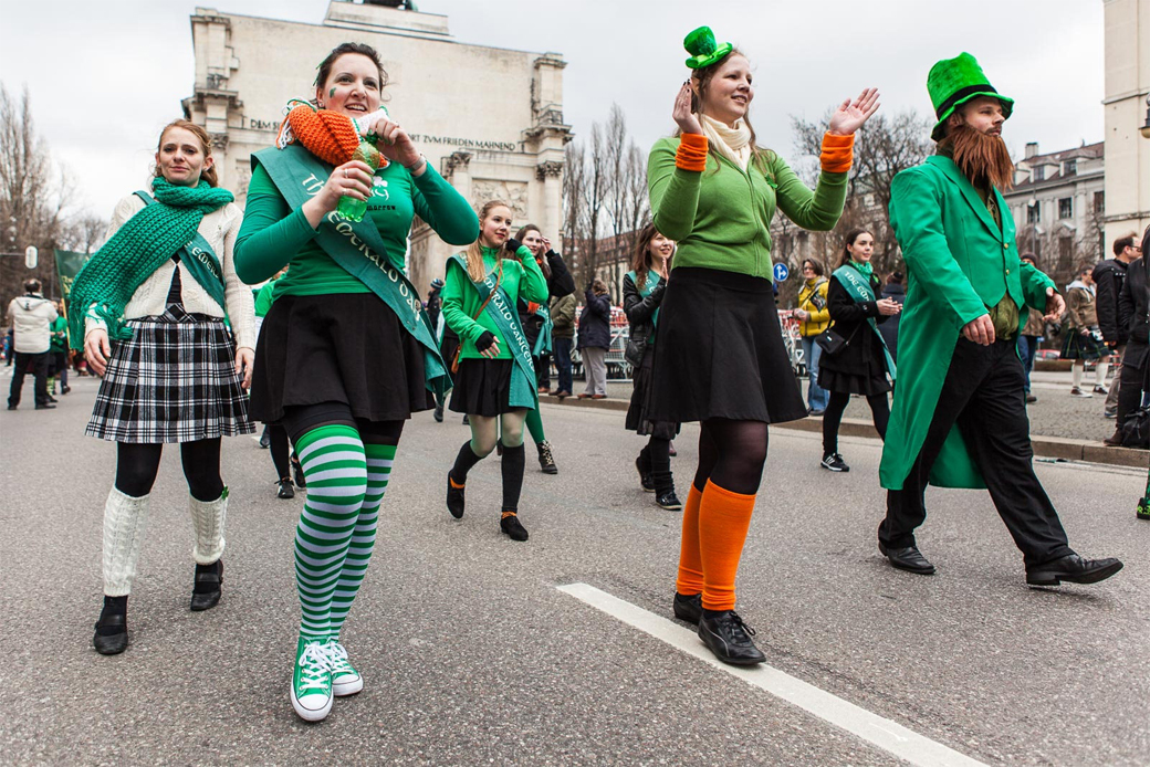 Patrick´s Day Parade in München