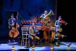 Die Musiker von Släpstick
