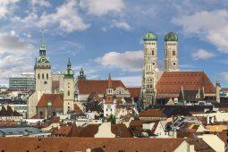 #münchenistwiederda, Panoramic View of Munich